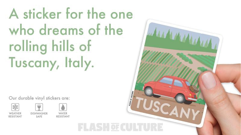 Blog-The rolling hills of Tuscany, Italy-Flash of Culture