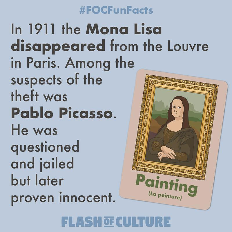 Did Pablo Picasso steal the Mona Lisa?-Flash of Culture™