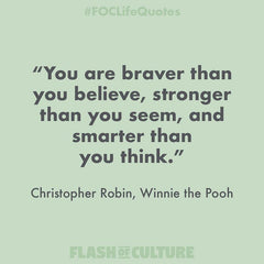 Christopher Robin quote on bravery