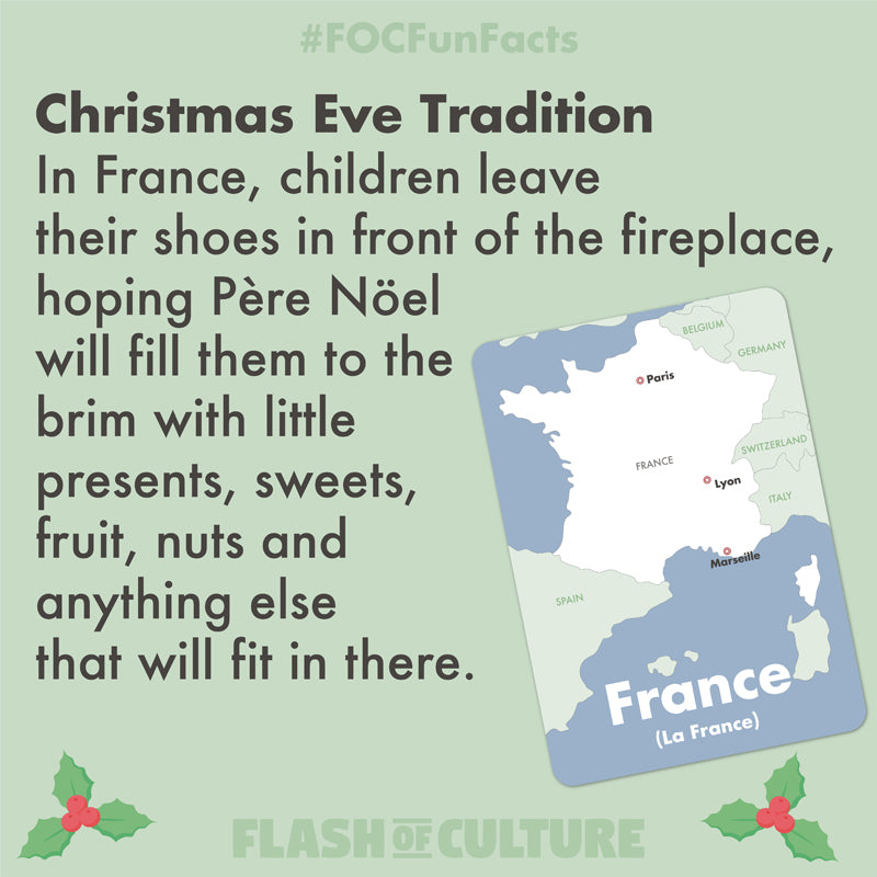 A Christmas Eve tradition in France
