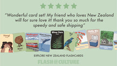Explore New Zealand flashcard review