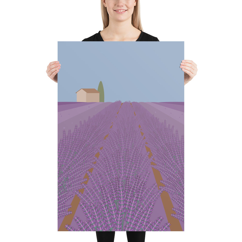 Provence France Art Print-Posters-Flash of Culture