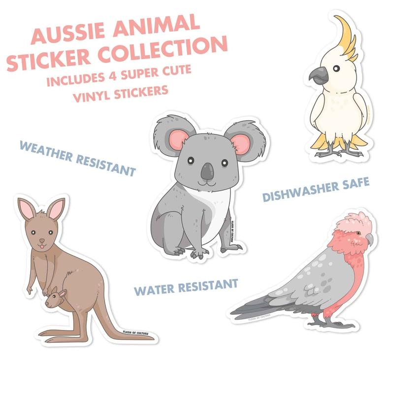 Aussie Animal Sticker Bundle-Stickers-Flash of Culture™