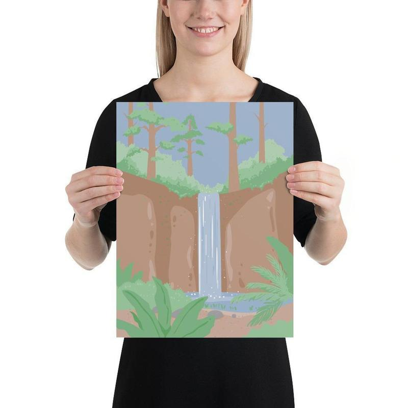 Australian Rainforest Poster Art-Posters-Flash of Culture™