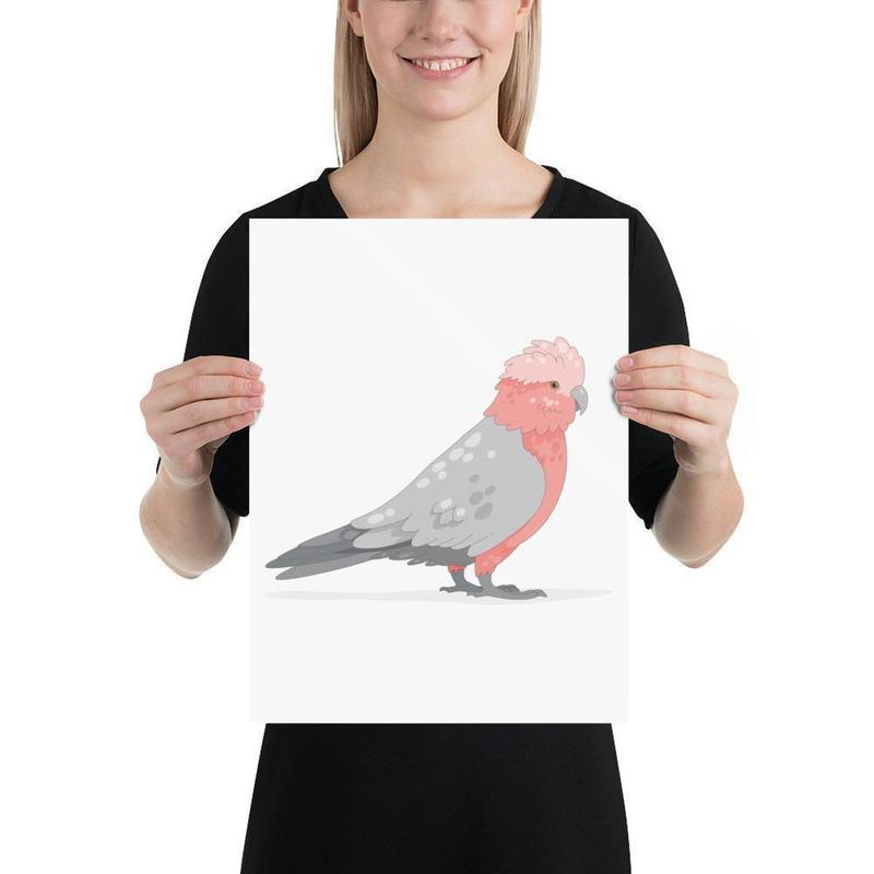 Galah Poster-Posters-Flash of Culture™