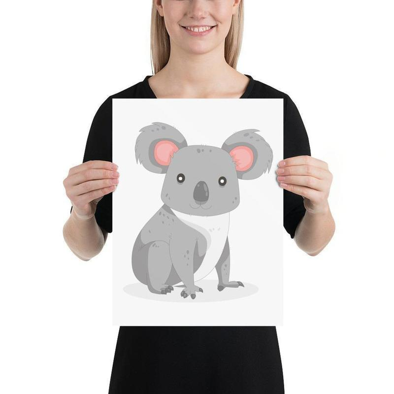 Koala Art Print-Posters-Flash of Culture™