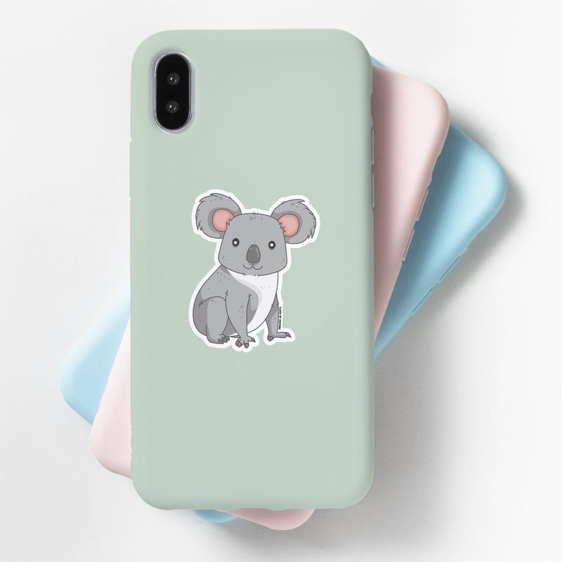 Koala Sticker - High Quality Vinyl Sticker-Stickers-Flash of Culture™