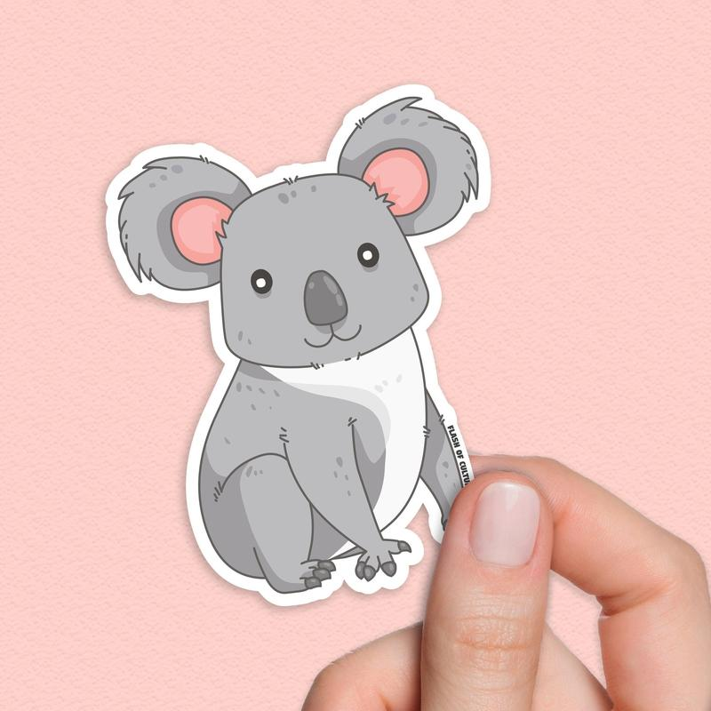 Koala sticker, waterproof stickers-Stickers-Flash of Culture™