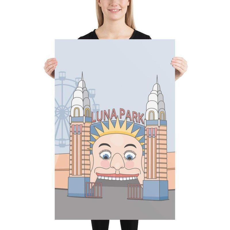 Luna Park Poster-Posters-Flash of Culture™