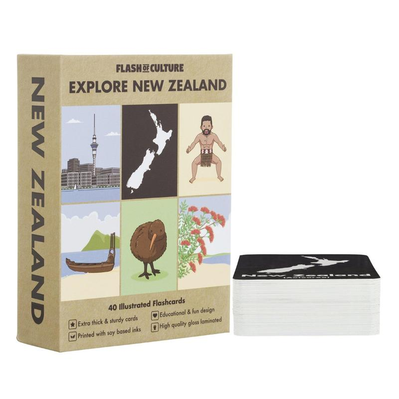 New Zealand Themed Kids Flashcards-Flashcards-Flash of Culture™