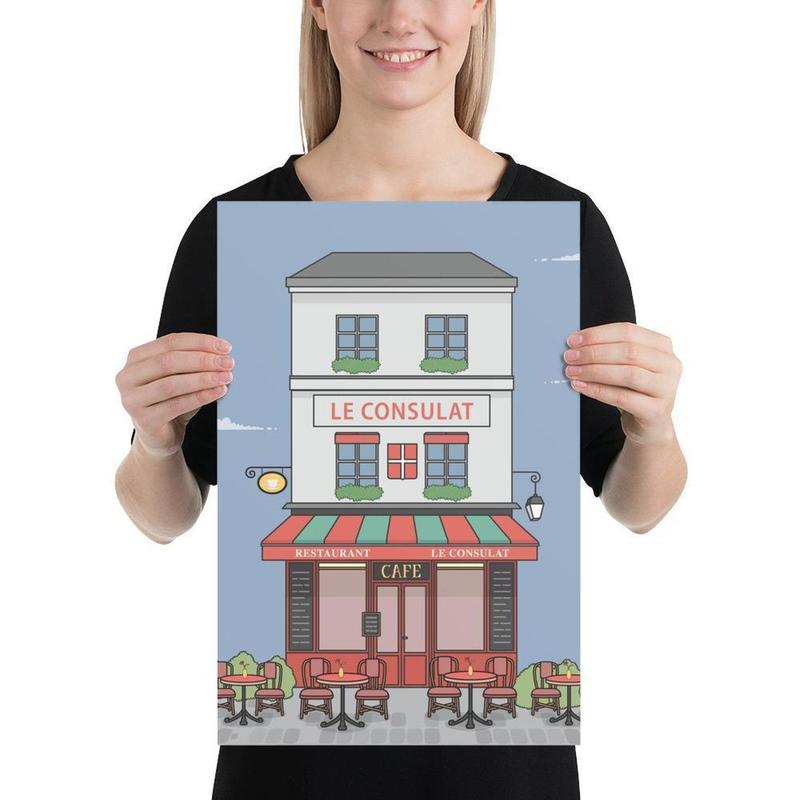 Parisian Café Poster Art-Posters-Flash of Culture™