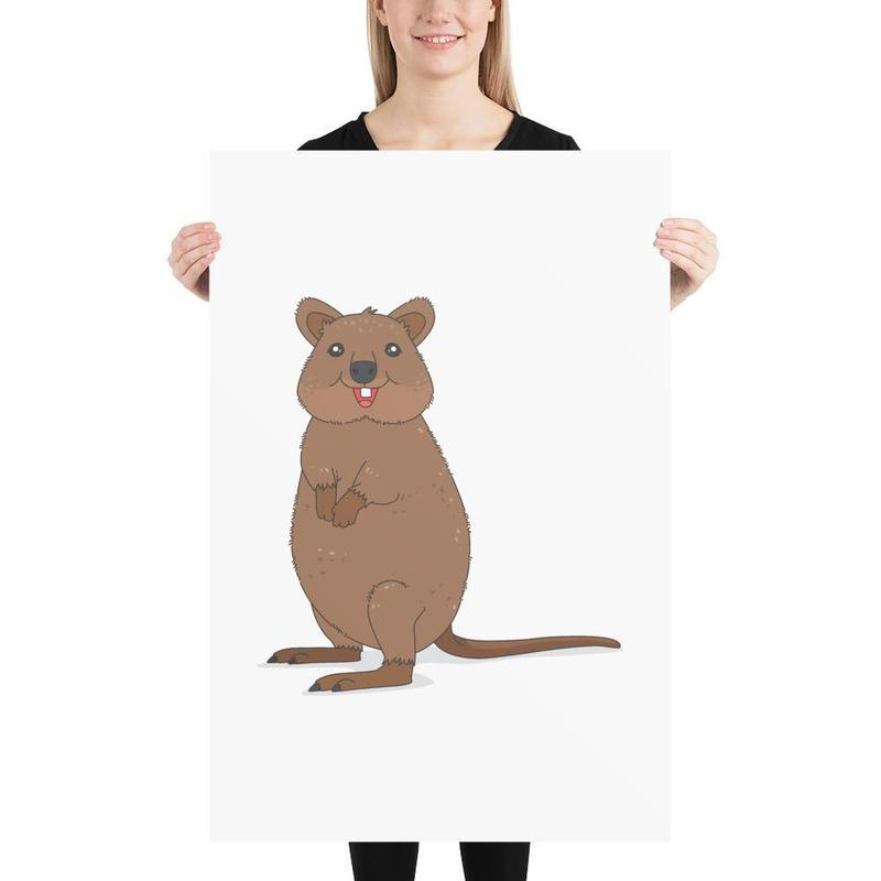 Quokka Poster Art-Posters-Flash of Culture™