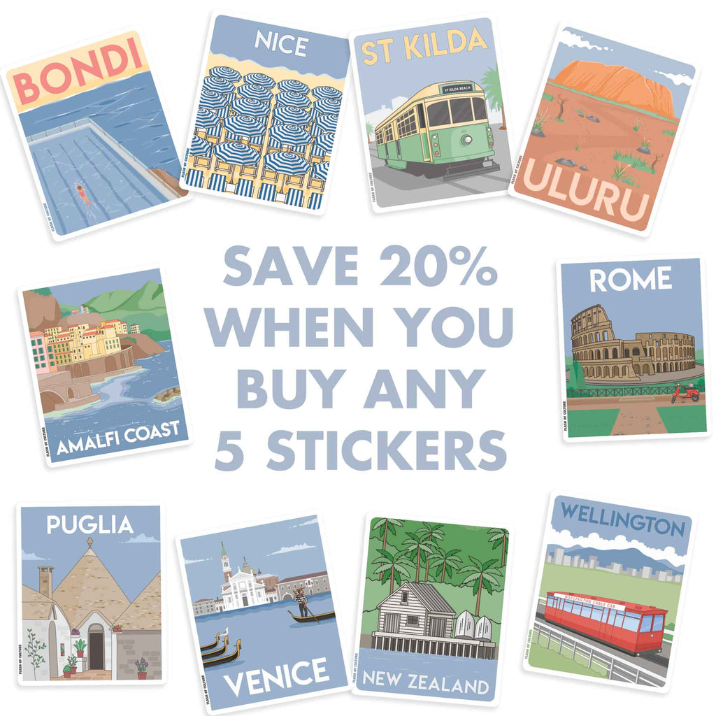 Buy 5 stickers SAVE 20%-Stickers-Flash of Culture™