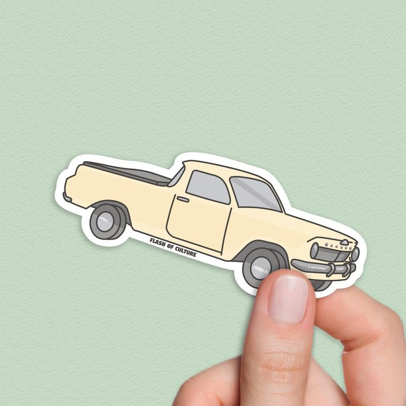 Ute Sticker, Pick-up truck Sticker, Aussie icons-Stickers-Flash of Culture™