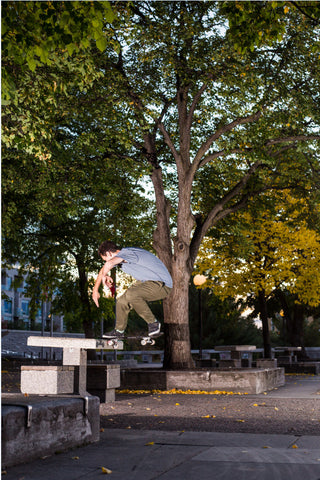 Aaron Cayer frontside noseslide Archives Ottawa