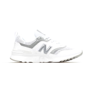 New Balance - Mens 997 - White/Silver