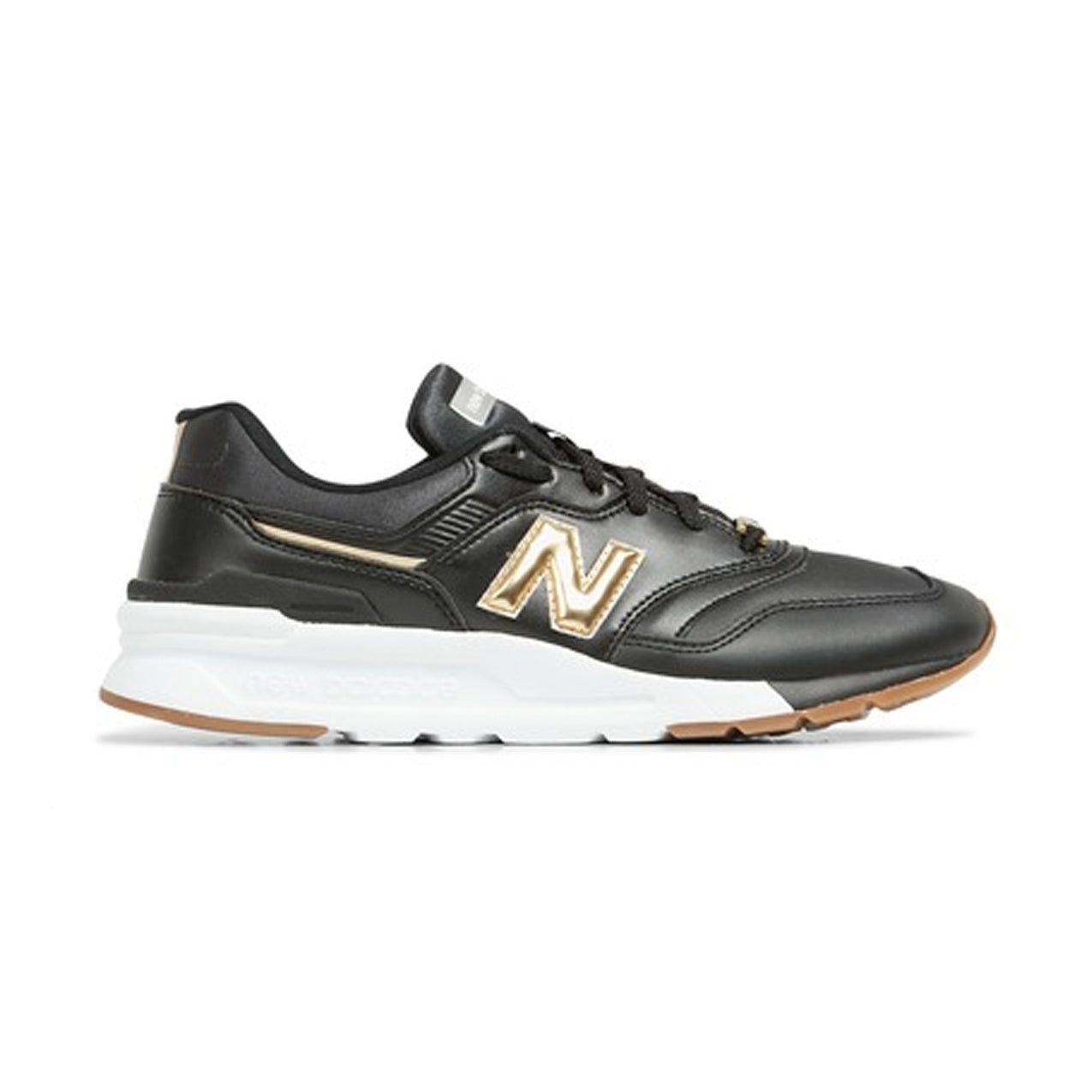 New Balance - Women's 997 HAI - Black/Gold