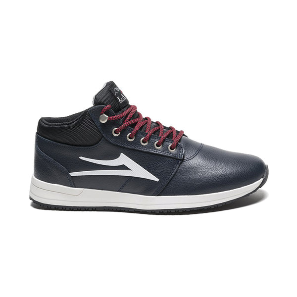 Lakai - Griffin Mid - Navy Leather Ottawa Canada