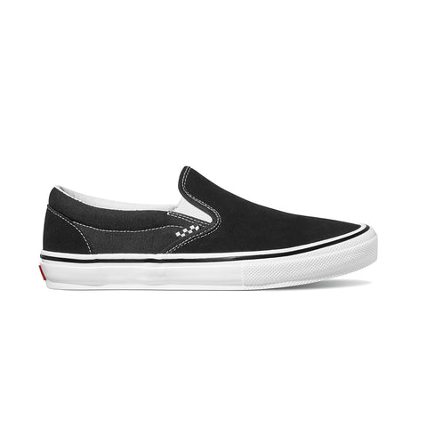 Vans - Skate Slip On - Black / White