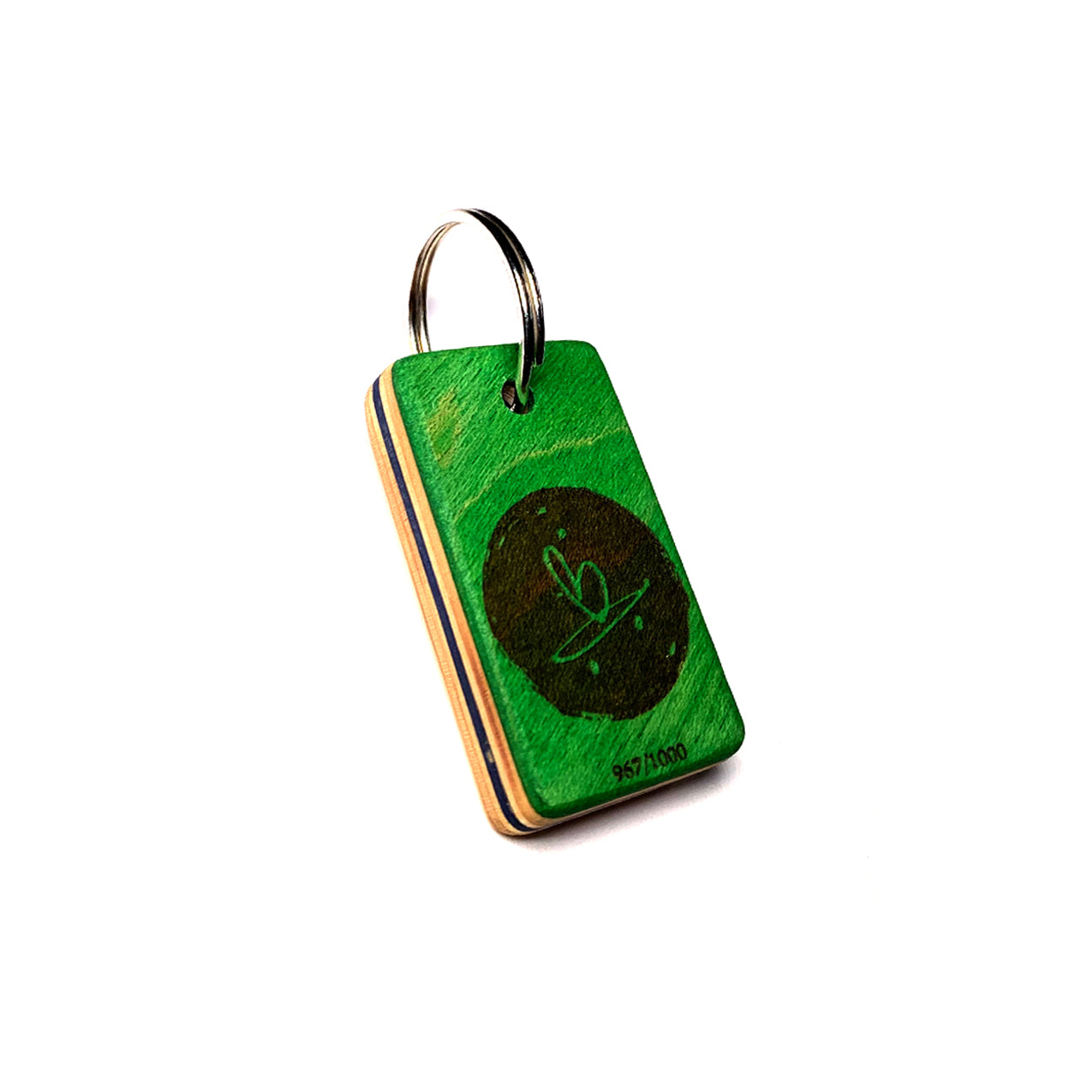 Birling - Beart Board Ply Key Chain - Green
