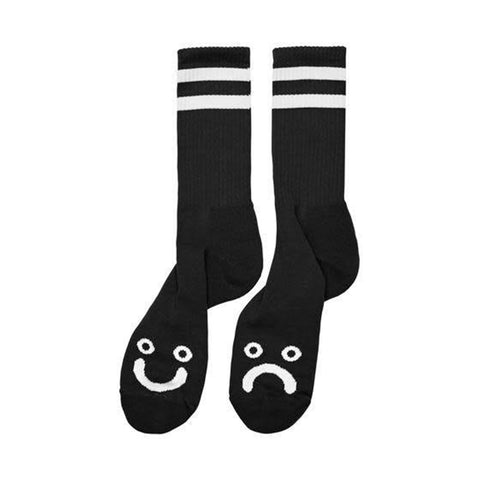 Polar - Happy Sad Socks - Black