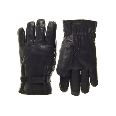 Raber Gloves - Artica Leather Gloves - Black