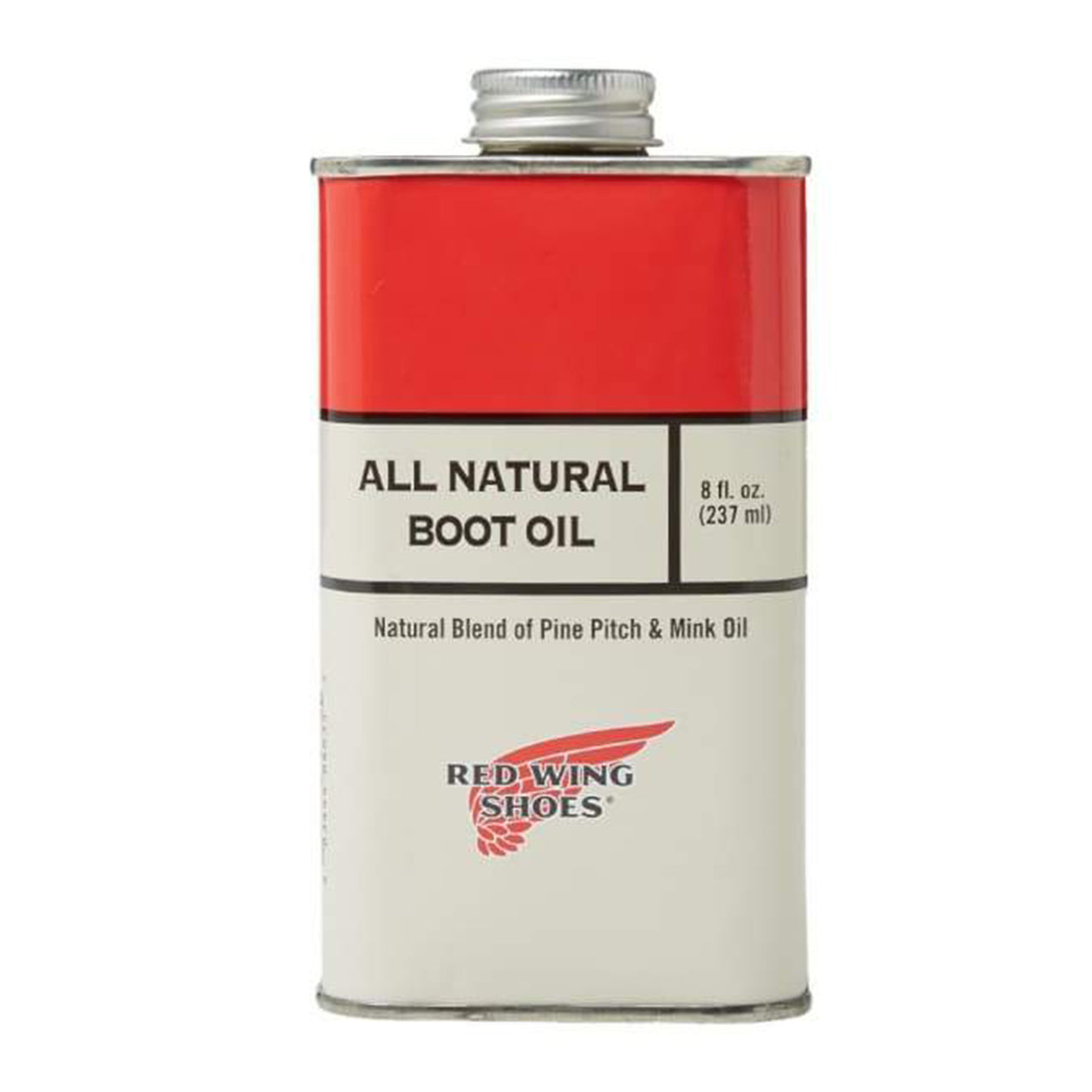 redwing oil natural boot