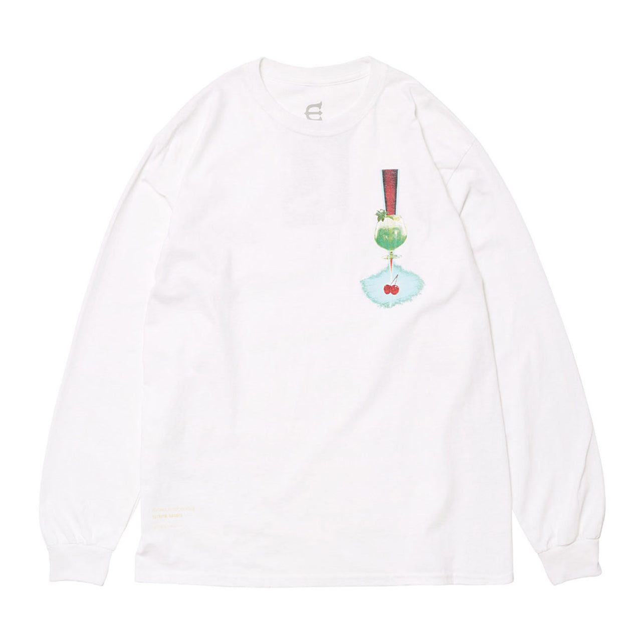 Evisen - Cherry Pop Longsleeve - White