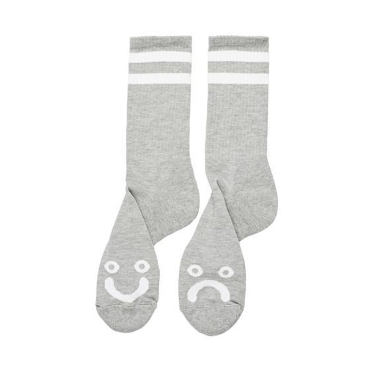 Polar - Happy Sad Socks - Grey