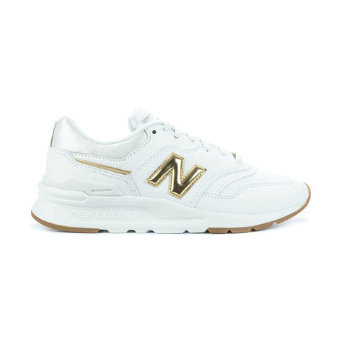 New Balance - Women's 997 HAH - White/Gold