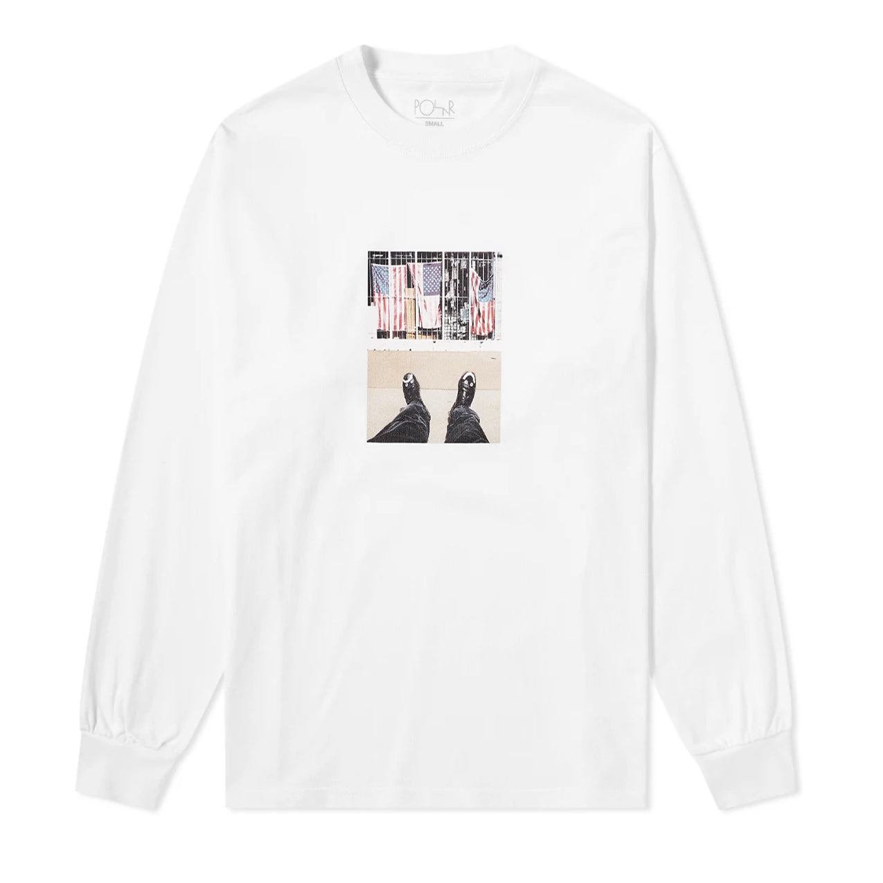 Polar - Happy Sad Around The World L/S - White