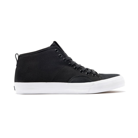 State - Harlem Up Town - Black/White Suede Canvas