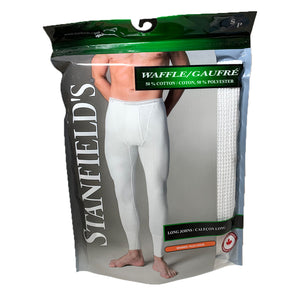 Stanfield - 6622 Thermal Long John - White