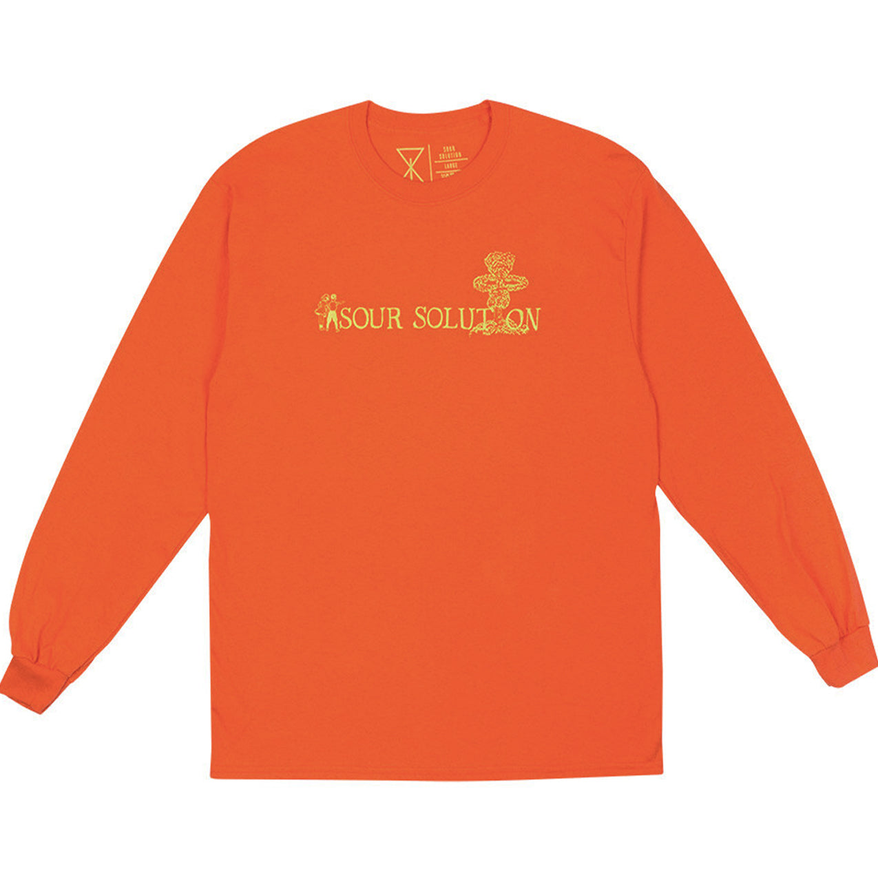 Sour Solution - Nuclear Long Sleeve - Orange