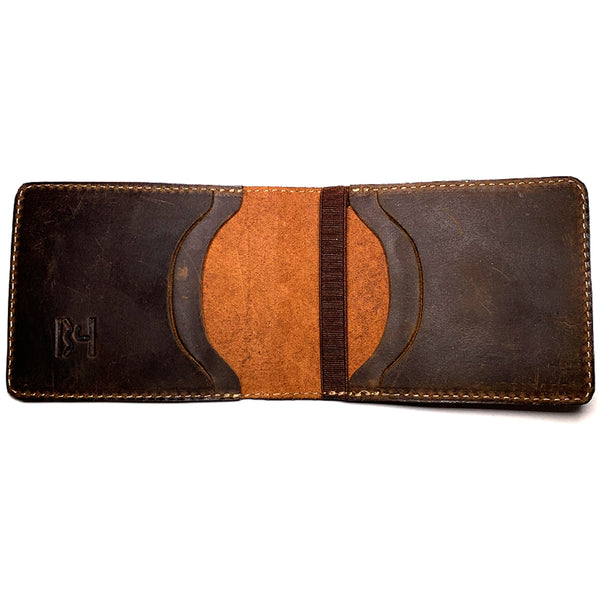 JMB - Quebec Wallet - Brown