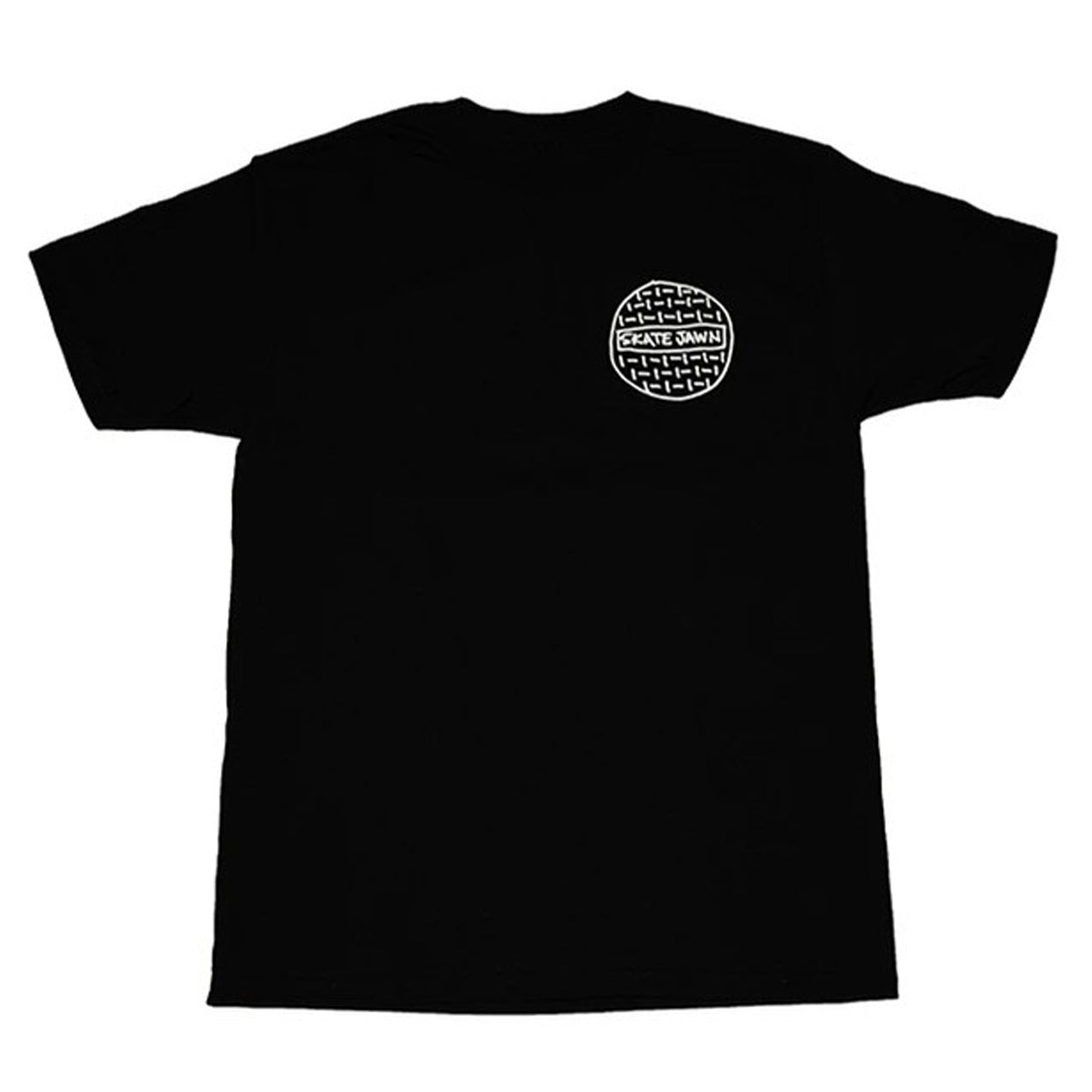 Skate Jawn - Sewer Cap T-Shirt - Black
