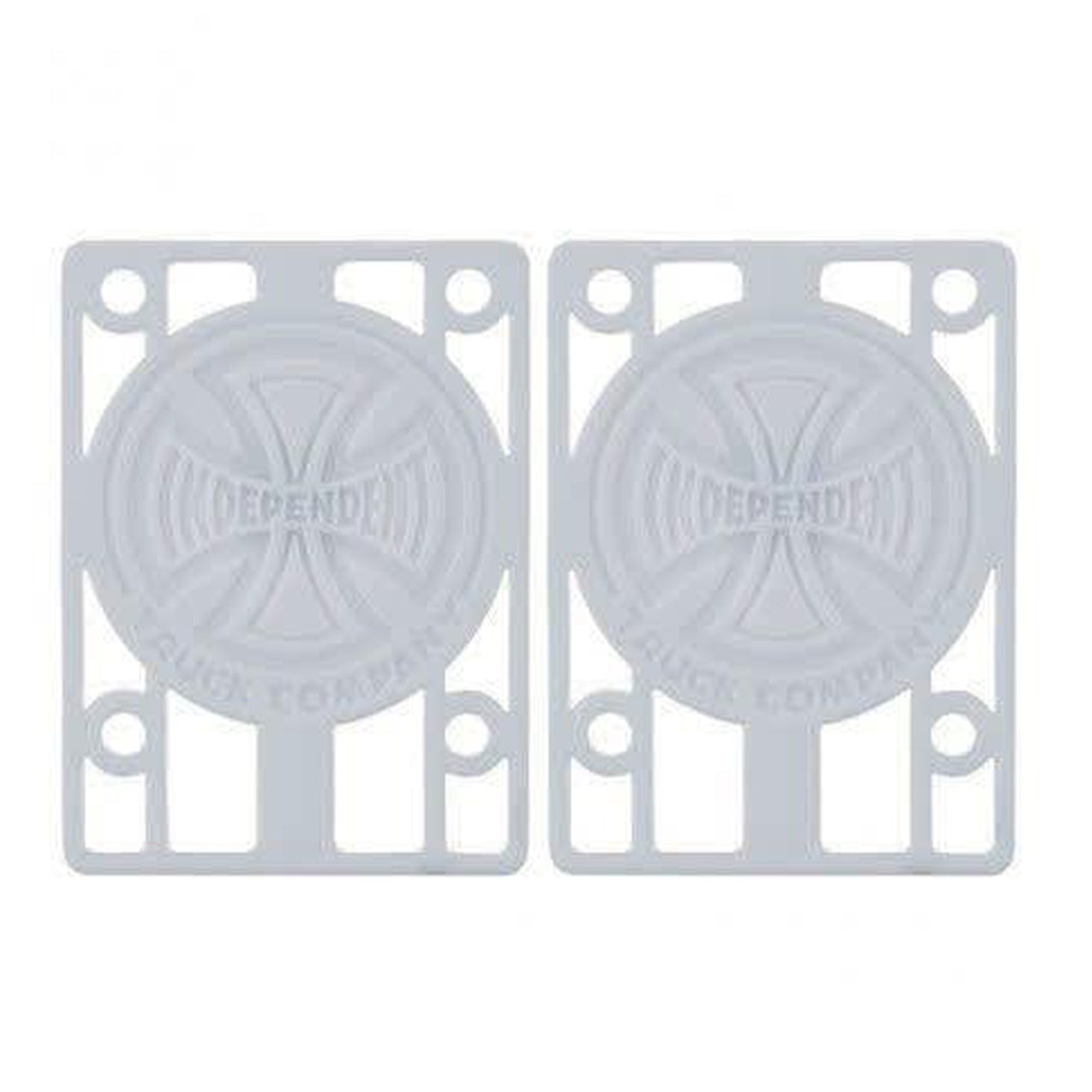 Indy Risers - White Riser Pads - 1/8