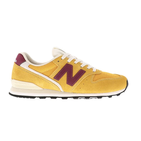 New Balance - Women's 996 - Yellow/Burgundy