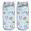 Baby Animals In A Box Ankle Socks - Dollar Socks Club