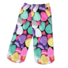 Candy Hearts Crew Socks - Dollar Socks Club