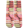 Colorful Macaroons Crew Socks - Dollar Socks Club