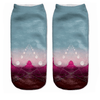 Moon Canyon Ankle Socks - Dollar Socks Club