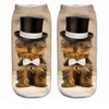 Top Hat YorkieAnkle Socks - Dollar Socks Club