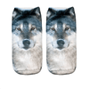 Wolf Ankle Socks - Dollar Socks Club