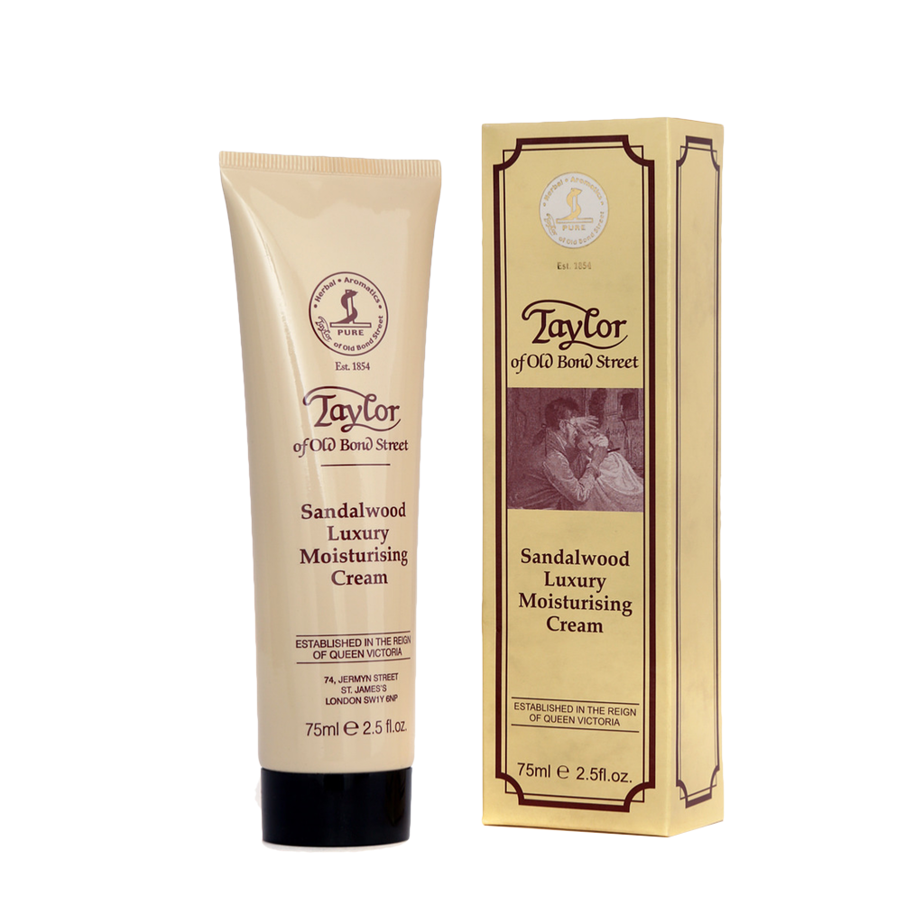 Taylor´s Crema Humectante de Sandalo 75ml - The Shaving Mayoreo