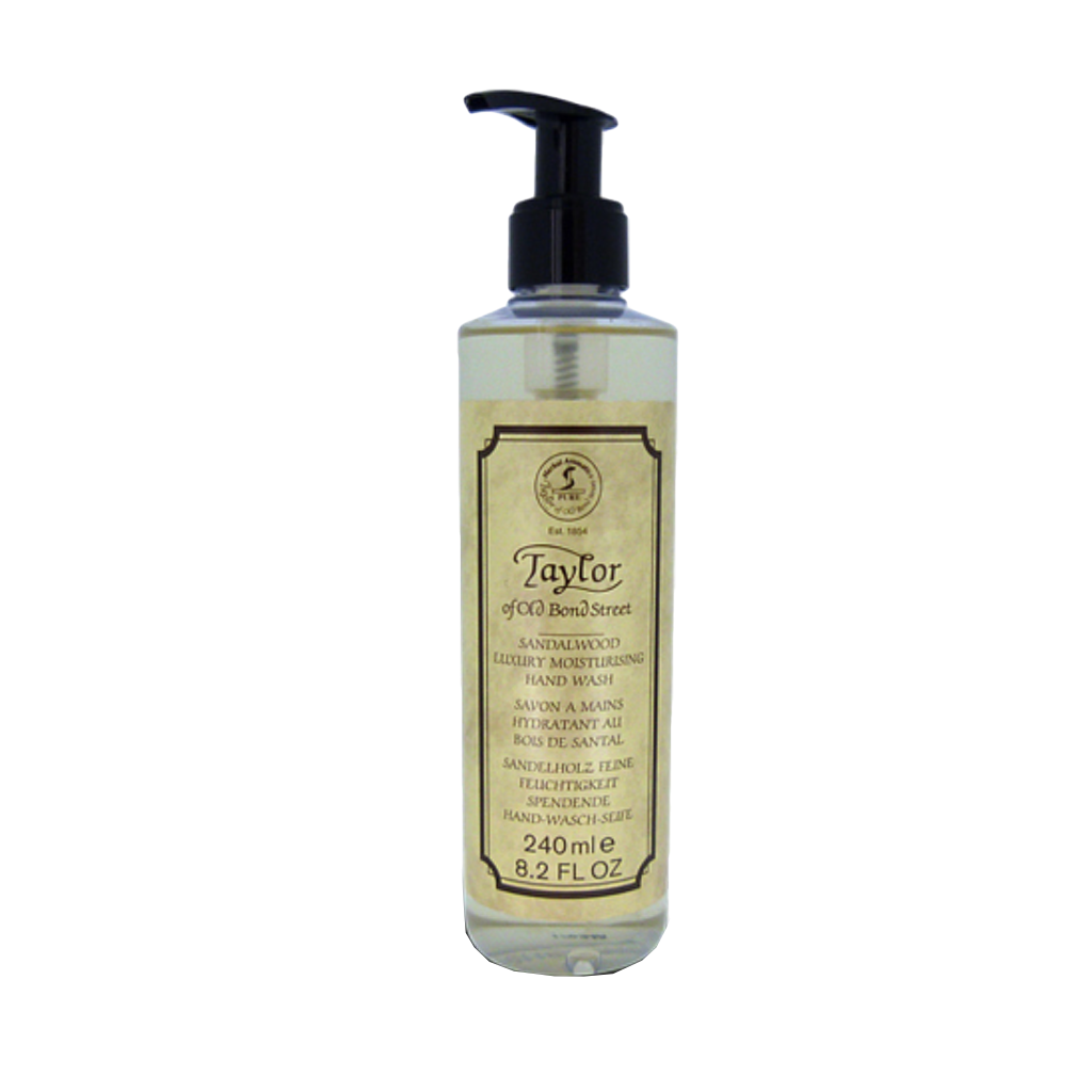 Taylor´s Jabon Sandalo Hidratante de manos 240ml. - The Shaving Mayoreo