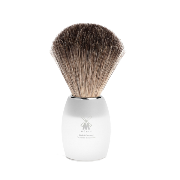 Mühle Brocha de Afeitar Vidrio Acrilico 21mm - The Shaving Mayoreo