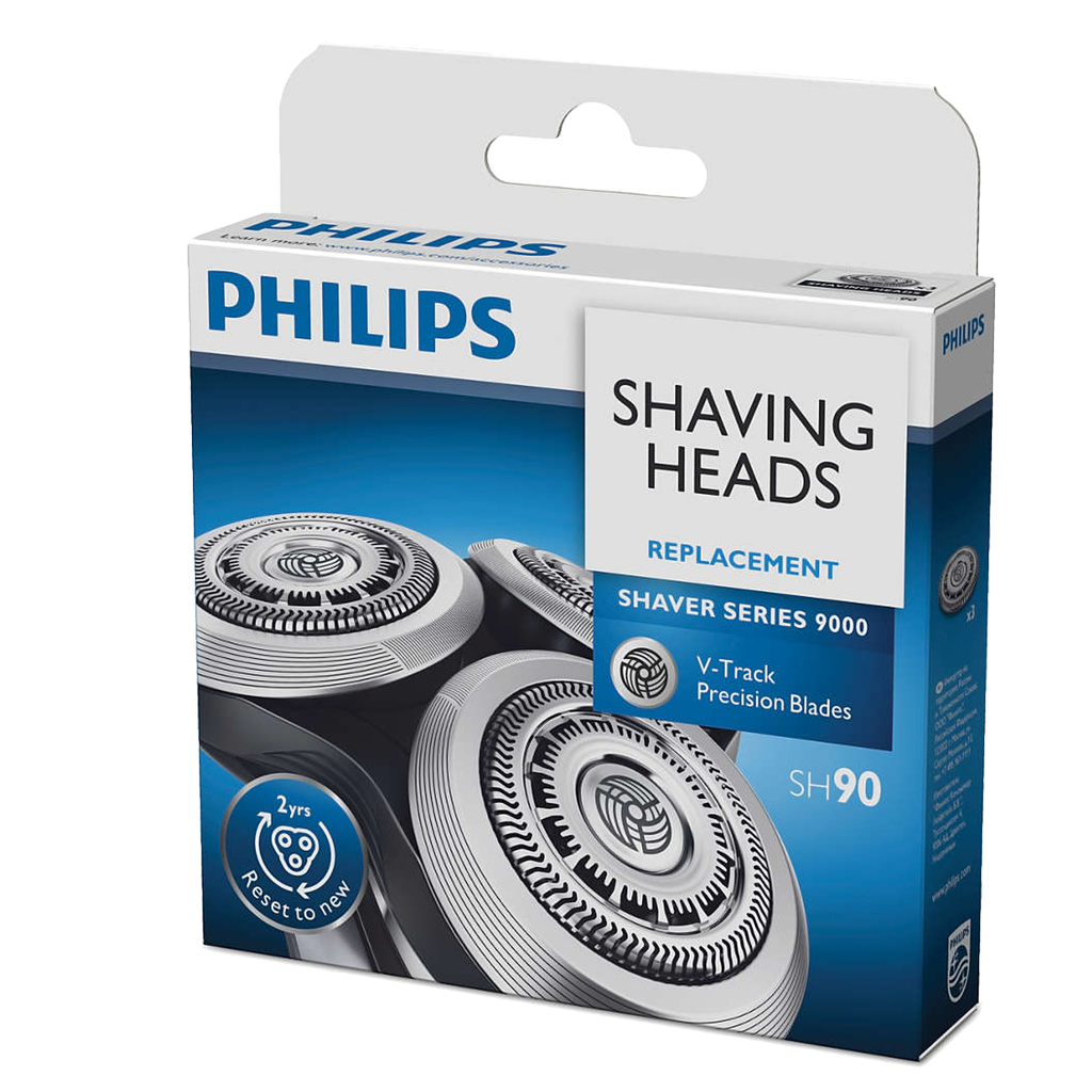 Philips Shaver series 9000 Cabezales de afeitado SH90/50 - The Shaving Mayoreo