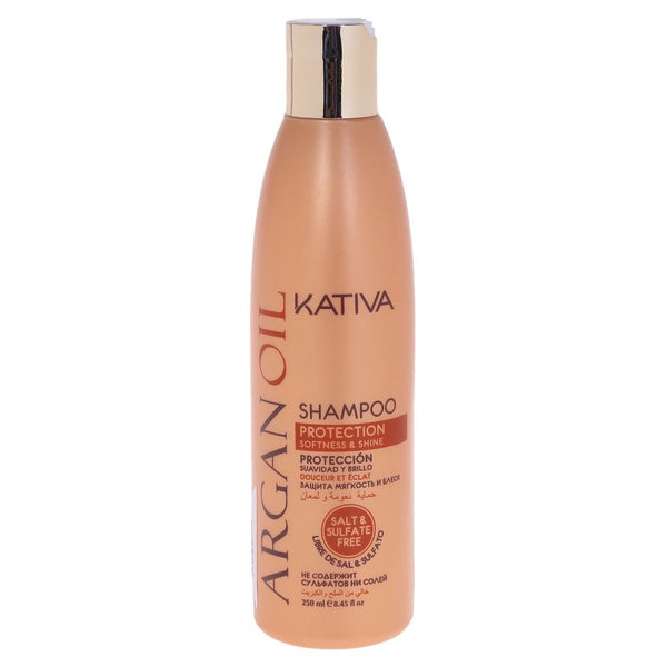 KATIVA ARGAN OIL SHAMPOO 250 ML - The Shaving Mayoreo