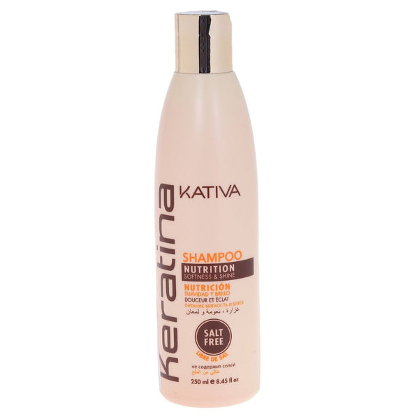KATIVA SHAMPOO KERATINA X 250 ML - The Shaving Mayoreo